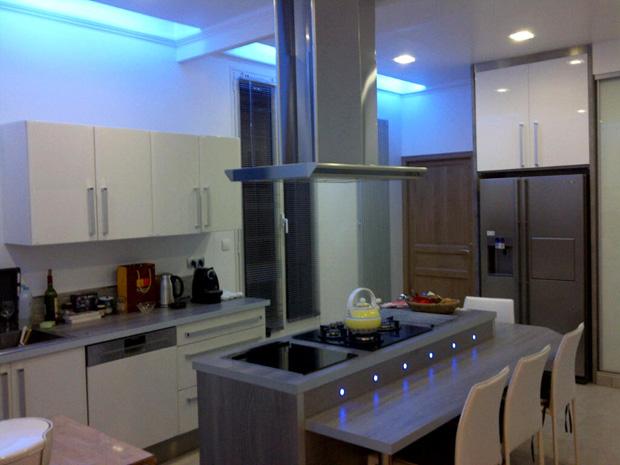 deco led eclairage id es d co pour les cuisines. Black Bedroom Furniture Sets. Home Design Ideas