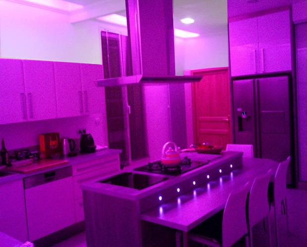 Deco Led Eclairage Idées Déco Pour Les Cuisines - Spot led meuble cuisine pour idees de deco de cuisine