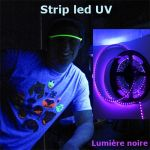 ruban led UV lumiere noire 120 leds