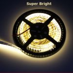 strip led 240leds super bright blanc chaud