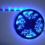 strip led economique blanc bleu 30