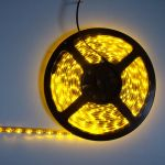 strip led economique jaune 60