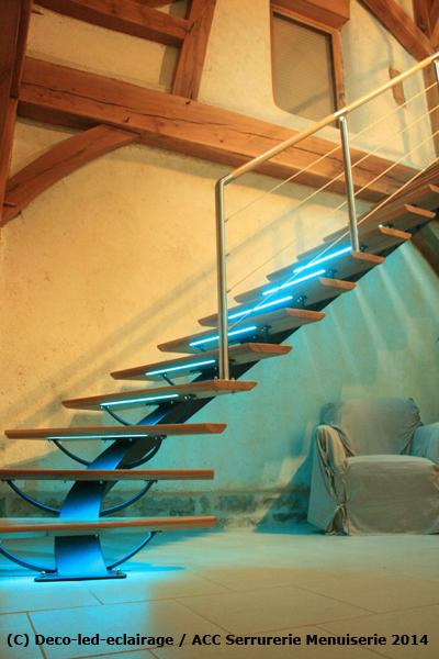 Deco Led Eclairage Id Es D Co Pour Les Escaliers