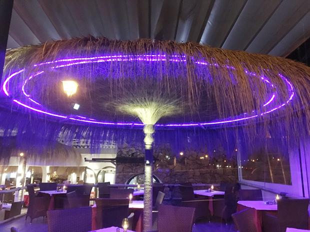 Deco led eclairage décoration hôtels et restaurants