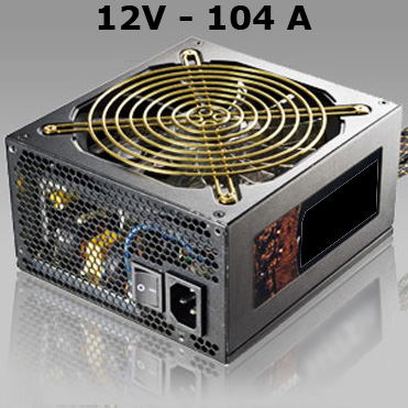 alimentation led 12V 104A