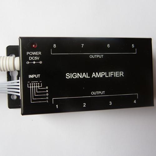 amplificateur rgb arc en ciel