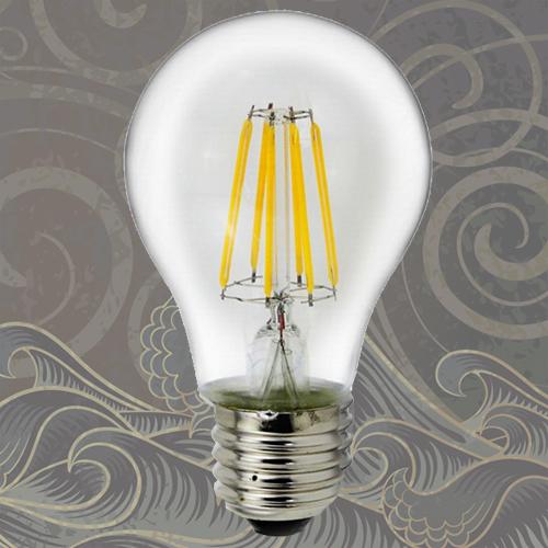 Ampoule à filament Led  style rétro  E27 6W  Deco Led