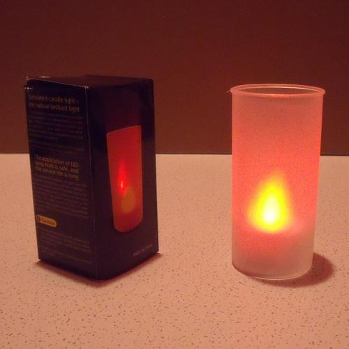 bougies led sur deco led eclairage. Black Bedroom Furniture Sets. Home Design Ideas