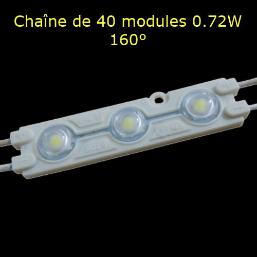 chaine 40 modules led 072W