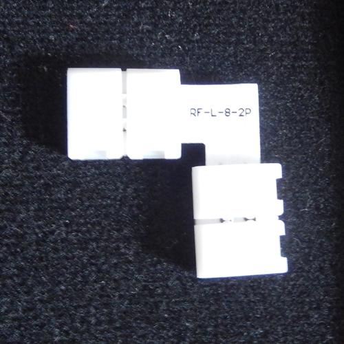 connecteur angle rapide ruban led 1 couleur