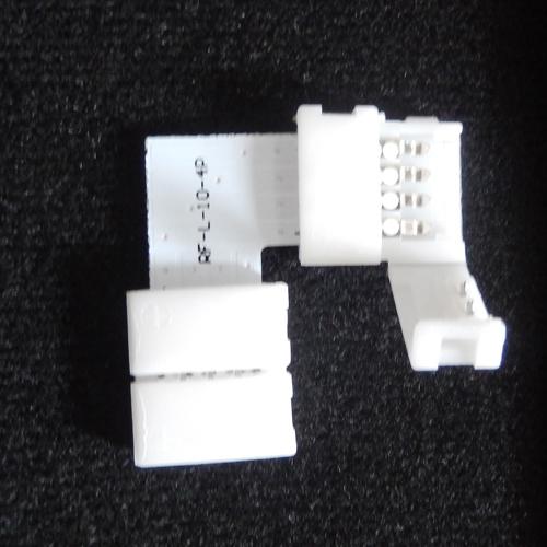 connecteur angle rapide ruban led RGB pic2