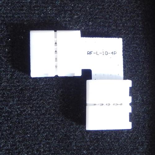 connecteur angle rapide ruban led RGB