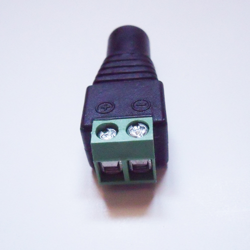 connecteur bornier alimentation femelle 2 conducteurs pic3