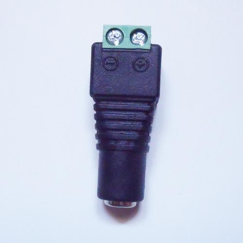 connecteur bornier alimentation femelle 2 conducteurs