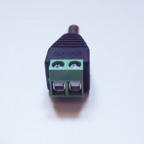 connecteur bornier alimentation male 2 conducteurs pic2