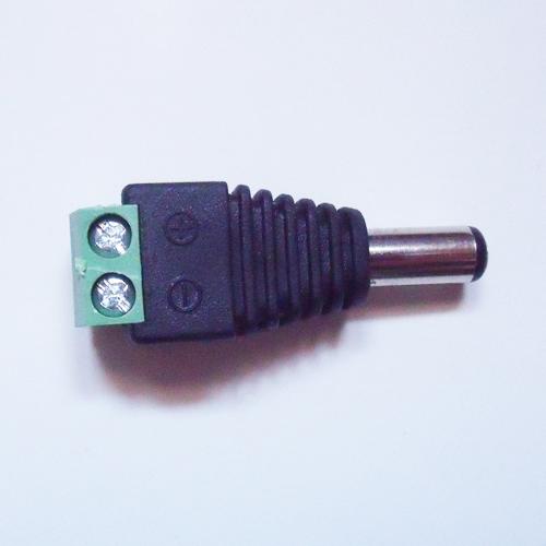connecteur bornier alimentation male 2 conducteurs