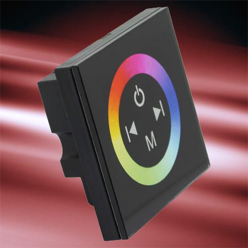 controleur RGB tactile mural pour strip led RGB