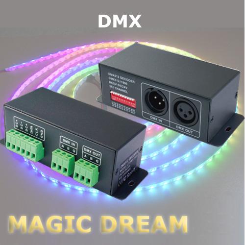 controleur dmx led magic dream