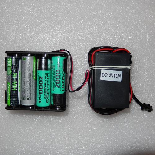 controleur fil lumineux 8 piles pic2