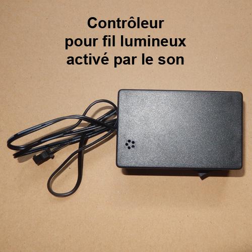 fils lumineux 3 mm d coratif et tuning sur deco led eclairage. Black Bedroom Furniture Sets. Home Design Ideas
