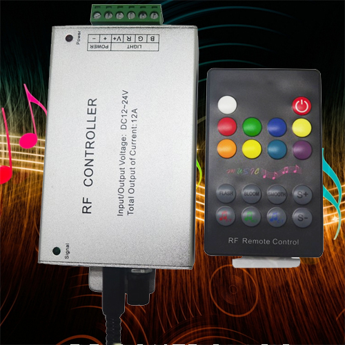 controleur led RGB musique CTRLMUSRF1