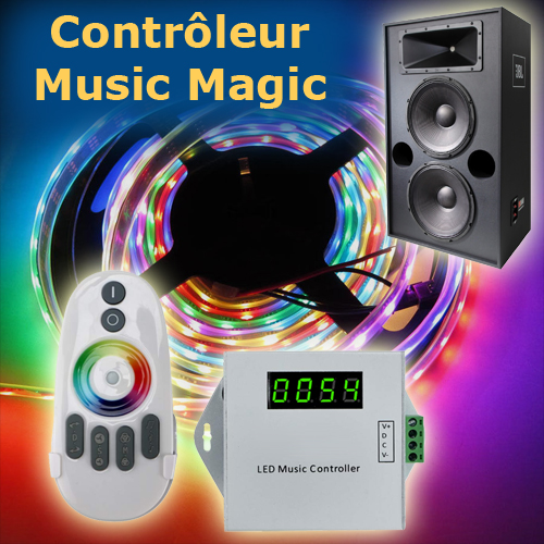 controleur led music magic