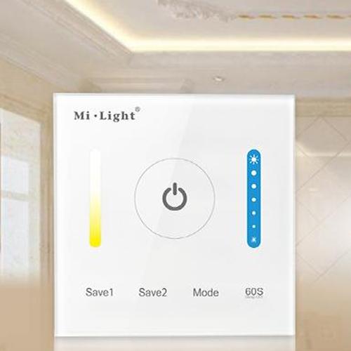 controleur mural strip led blanc variable WALLCCT4ZB2 pic3