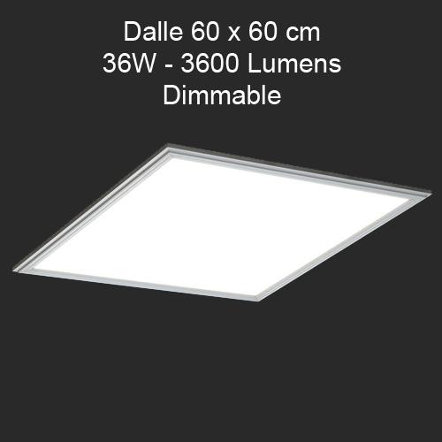 dalle led 60x60 36W DALP6036PW