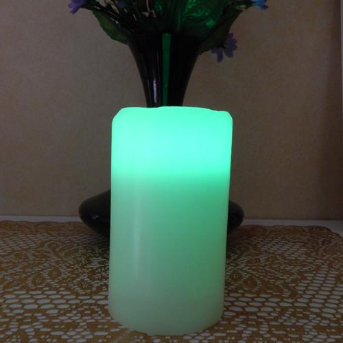 ensemble 3 bougies led RGB pic7