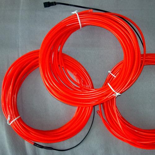 fil lumineux flexible 3 mm 10 m tres rouge contr leur sur deco led eclairage. Black Bedroom Furniture Sets. Home Design Ideas
