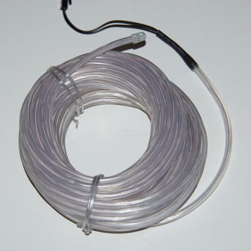 fil lumineux flexible double ligne 5 mm 3 6w 10 m tres blanc contr leur sur deco led eclairage. Black Bedroom Furniture Sets. Home Design Ideas