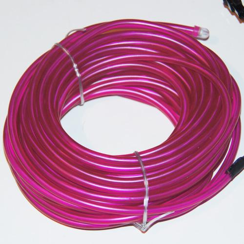 fil lumineux flexible double ligne 5 mm 3 6w 10 m tres violet contr leur sur deco led eclairage. Black Bedroom Furniture Sets. Home Design Ideas
