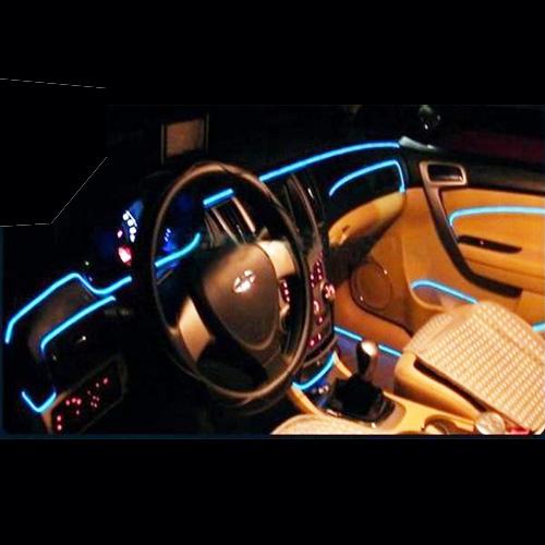 fil lumineux voitures
