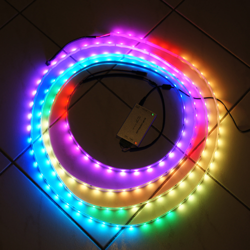 ruban led multicolore 10 metre kit ruban led rgb avec. Black Bedroom Furniture Sets. Home Design Ideas