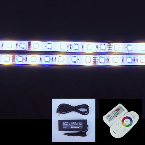 kit strip led RGB blanc froid