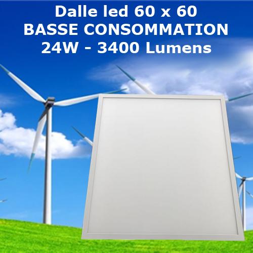 panneau led basse consommation PANLED60BC