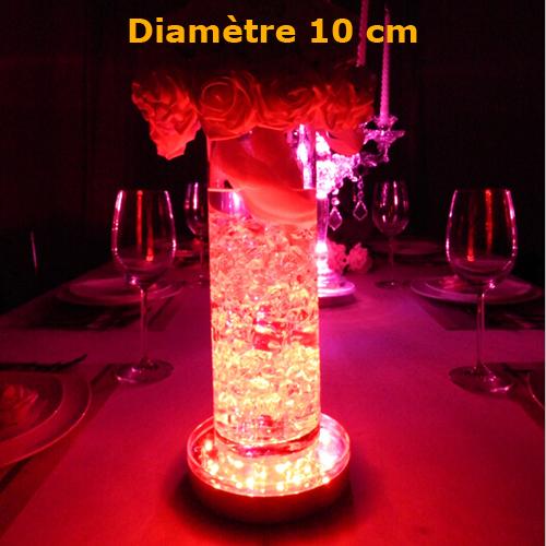 plateau led RGB 10cm
