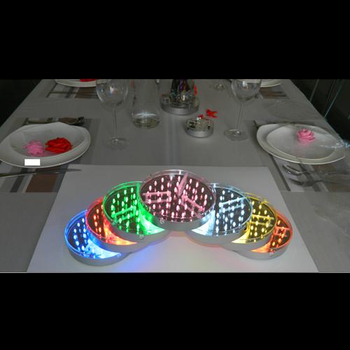 plateau led RGB 15cm pic12