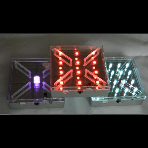 plateau led RGB carre 10cm pic3
