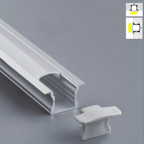 profil led encastrable complet en alu 25 x 14 5 mm mod le prfenc1201 sur deco led eclairage. Black Bedroom Furniture Sets. Home Design Ideas