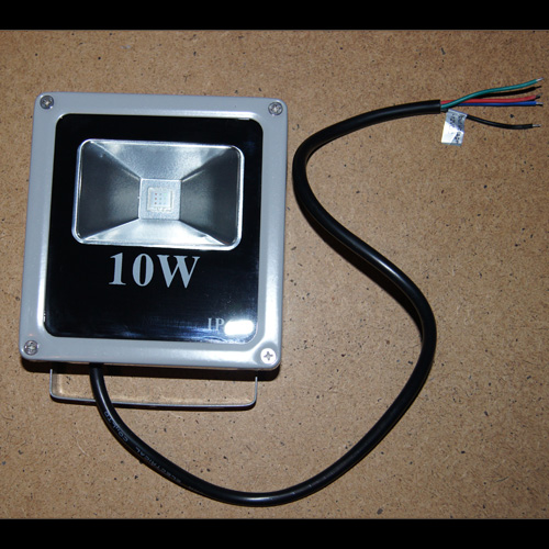 projecteur led rgb 10W pic4