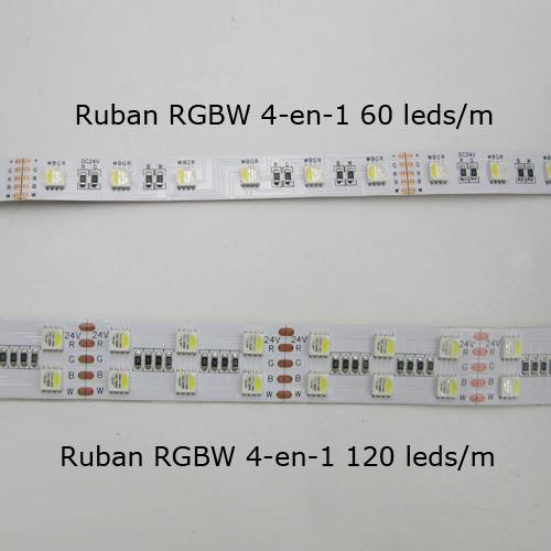 ruban RGBW 4 en 1 120 leds par metre pic7