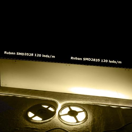 ruban led SMD2835 120 led m 1620 Lumens pic2