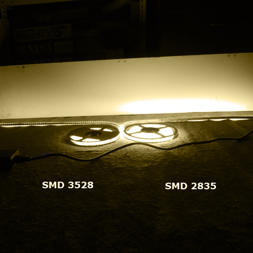 ruban led SMD2835 120 led m 1620 Lumens pic4