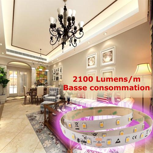 ruban led basse consommation 2100 lumens