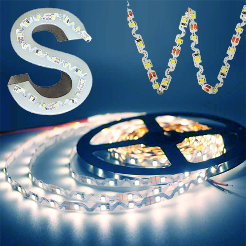 ruban led en S SMD3528 blanc froid