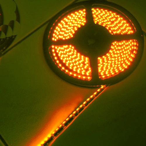 ruban led lateral orange 120