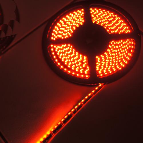 ruban led noir clairage lat ral rouge 120 leds m ip65 sur deco led eclairage. Black Bedroom Furniture Sets. Home Design Ideas