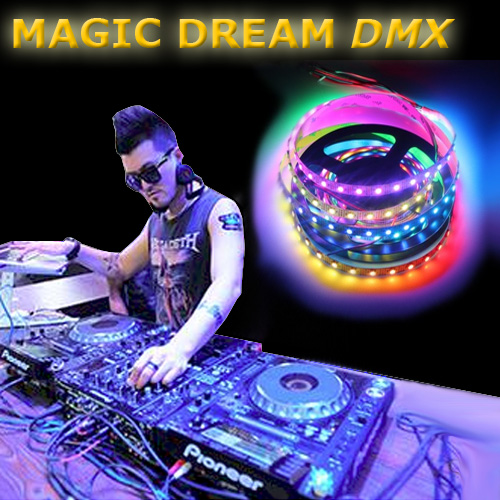 ruban led magic dream dmx