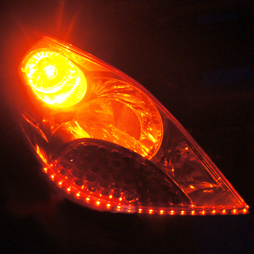 ruban led phares rouge orange 120 pic10